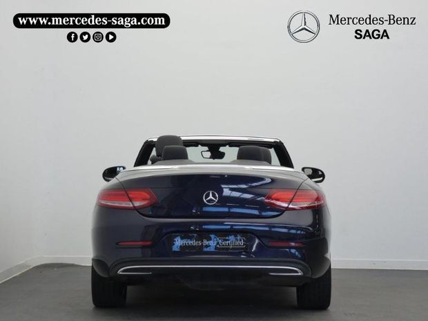 Photo miniature de la Mercedes Classe C Cabriolet 220 d 170ch Executive 2017 d'occasion