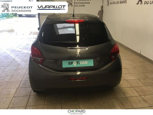 Photo miniature de la Peugeot 208 1.2 PureTech 82ch E6.c Allure 5p 2019 d'occasion