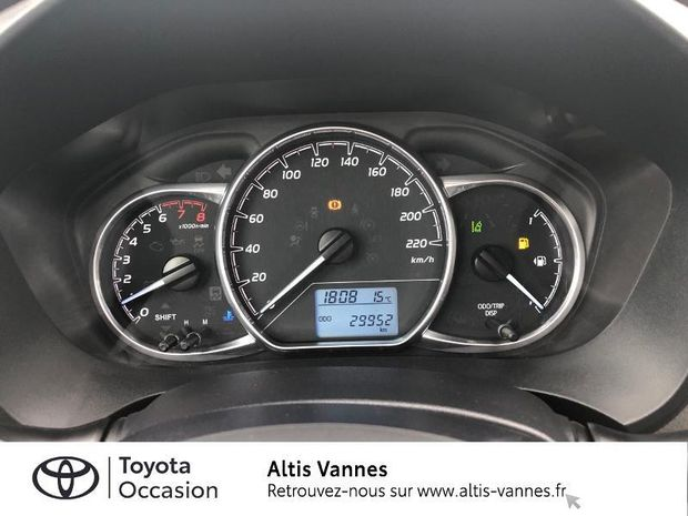 Photo miniature de la Toyota Yaris 69 VVT-i France 5p 2017 d'occasion