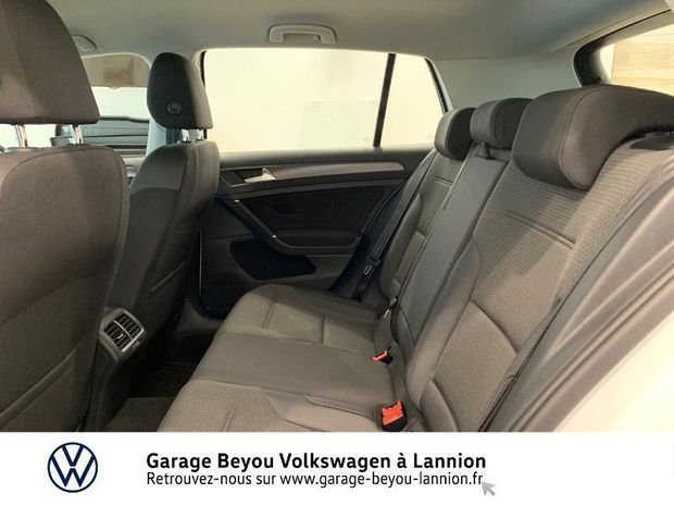 Photo miniature de la Volkswagen Golf 1.6 TDI 115ch FAP Trendline 5p 2019 d'occasion