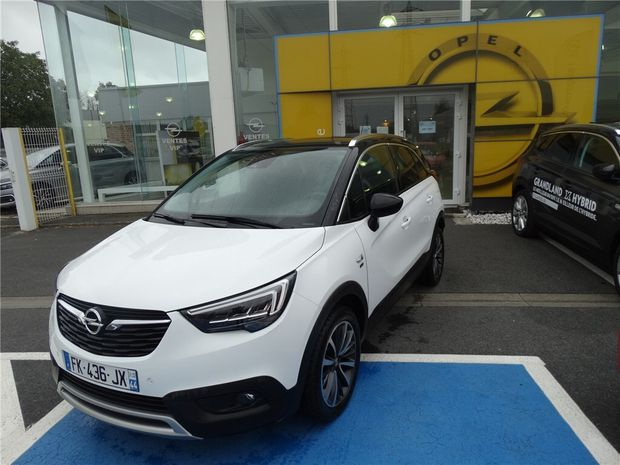 Photo miniature de la Opel Crossland X 1.2 TURBO 110 CH 2020 d'occasion