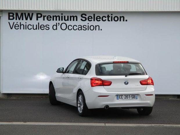 Photo miniature de la BMW Serie 1 114d 95ch Business 5p 2016 d'occasion