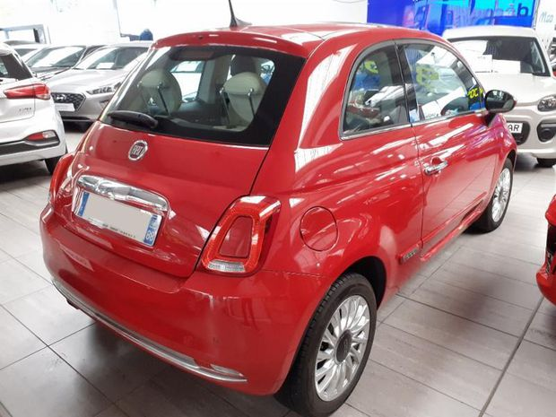 Photo miniature de la Fiat 500 1.2 8v 69ch Lounge 2017 d'occasion