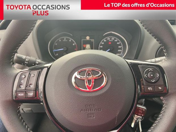 Photo miniature de la Toyota Yaris 70 VVT-i France Connect 5p MY19 2020 d'occasion