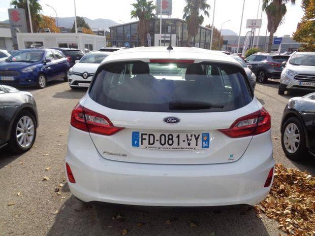 Photo miniature de la Ford Fiesta 1.1 70ch Essential 5p Euro6.2 2019 d'occasion