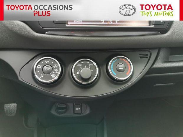 Photo miniature de la Toyota Yaris 69 VVT-i France 5p 2017 d'occasion