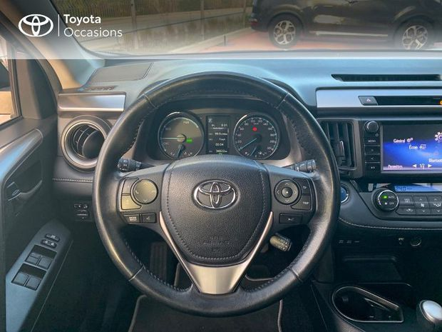 Photo miniature de la Toyota RAV4 197 Hybride Dynamic 2WD CVT 2017 d'occasion