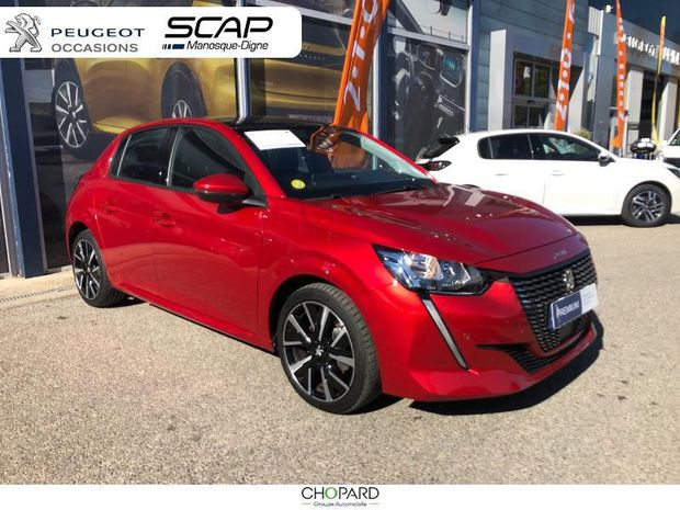 Photo miniature de la Peugeot 208 1.5 BlueHDi 100ch S&S Allure 2019 d'occasion