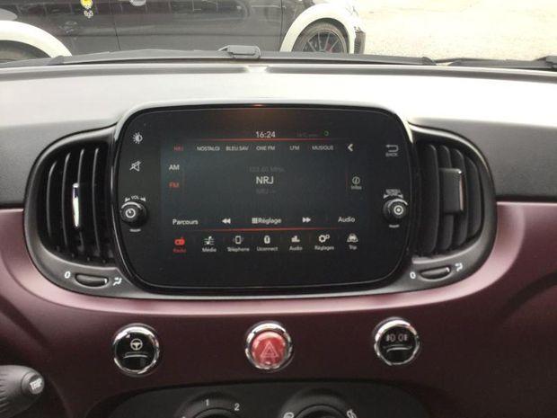 Photo miniature de la Fiat 500 1.2 8v 69ch S&S Star 2019 d'occasion