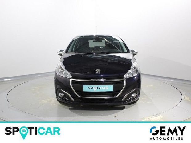 Photo miniature de la Peugeot 208 1.6 BlueHDi 100ch Style 5p 2018 d'occasion