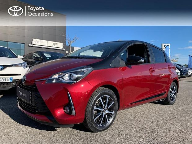Photo miniature de la Toyota Yaris 110 VVT-i Design CVT 5p 2018 d'occasion