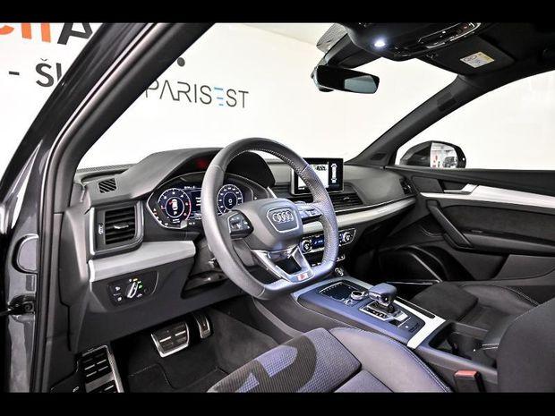 Photo miniature de la Audi Q5 2.0 TDI 190ch S line quattro S tronic 7 Euro6d-T 2019 d'occasion