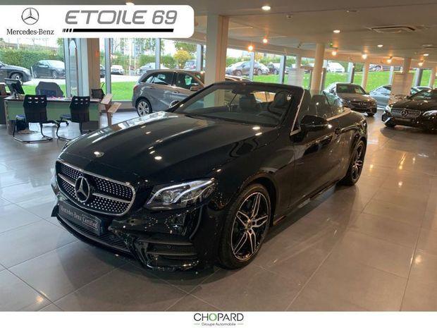 Photo miniature de la Mercedes Classe E Cabriolet 220 d 194ch AMG Line 9G-Tronic 2020 d'occasion