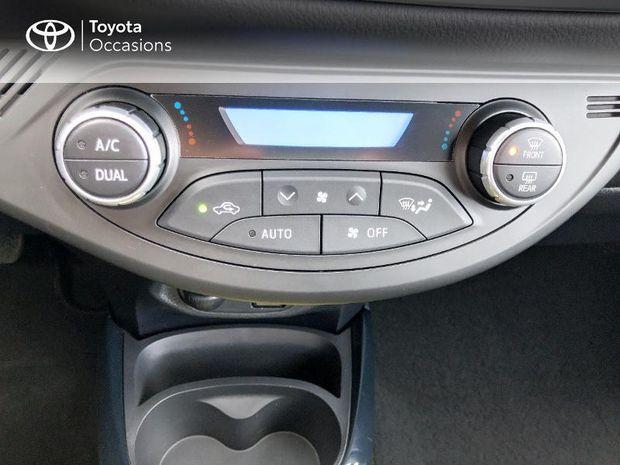 Photo miniature de la Toyota Yaris 100h Collection Jaune 5p 2017 d'occasion