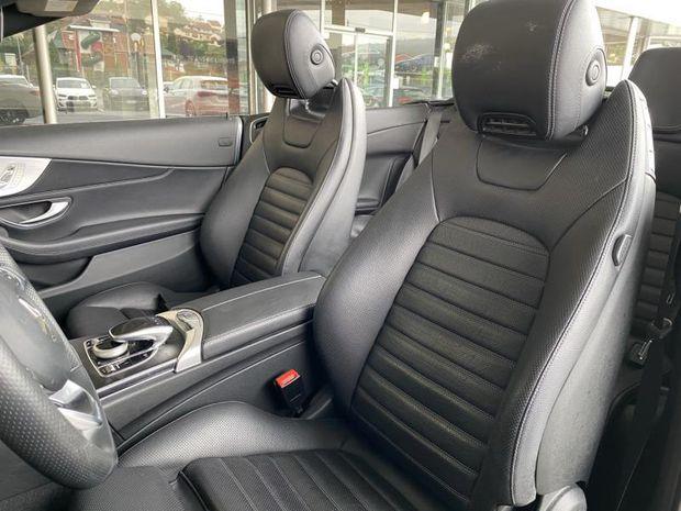 Photo miniature de la Mercedes Classe C Cabriolet 220 d 170ch Fascination 9G-Tronic 2017 d'occasion