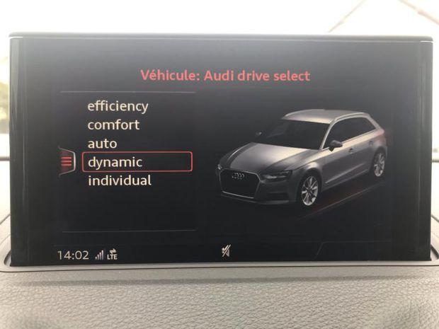 Photo miniature de la Audi S3 Sportback 2.0 TFSI 310ch quattro S tronic 7 2017 d'occasion