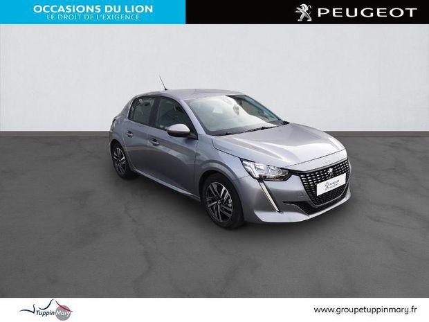 Photo miniature de la Peugeot 208 1.2 PureTech 100ch S&S Allure 2020 d'occasion