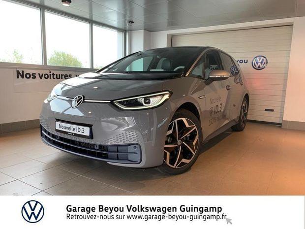 Photo miniature de la Volkswagen ID.3 58 kWh - 204ch 1st Plus 2020 d'occasion
