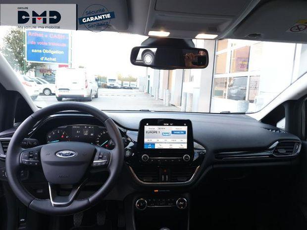 Photo miniature de la Ford Fiesta 1.0 EcoBoost 100ch Titanium 5p 2019 d'occasion