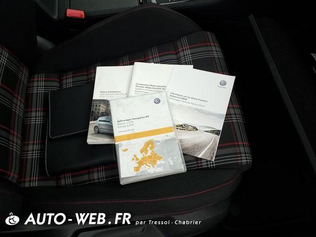 Photo miniature de la Volkswagen Golf 2.0 TSI 245 DSG7 GTI Performance 2019 d'occasion