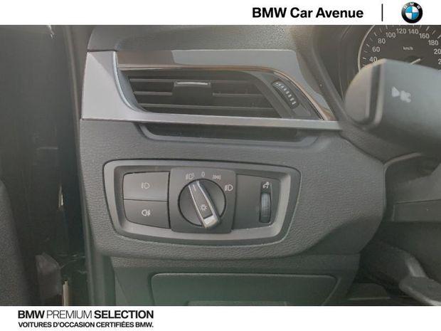 Photo miniature de la BMW X1 sDrive18iA 140ch xLine DKG7 2017 d'occasion