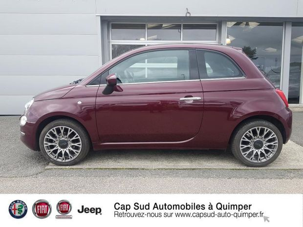 Photo miniature de la Fiat 500 1.2 8v 69ch Eco Pack Star 109g 2019 d'occasion