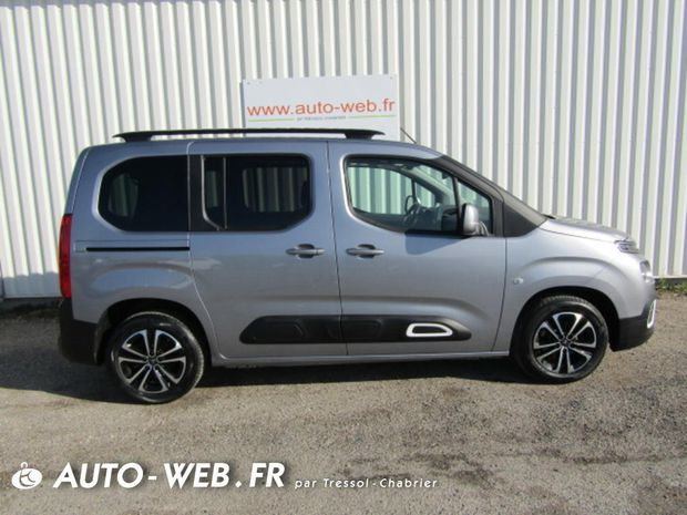 Photo miniature de la Citroën Berlingo Taille M PureTech 110 S&S BVM6 Shine 2019 d'occasion