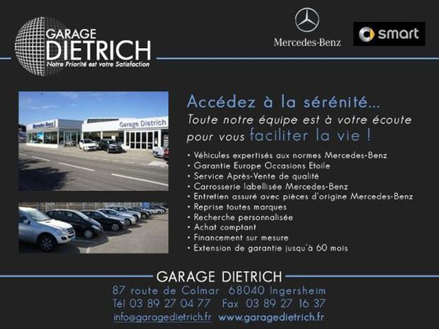 Photo miniature de la Mercedes Classe A 160 Intuition 2017 d'occasion