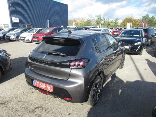 Photo miniature de la Peugeot 208 1.5 BlueHDi 100ch S&S GT Line 2020 d'occasion
