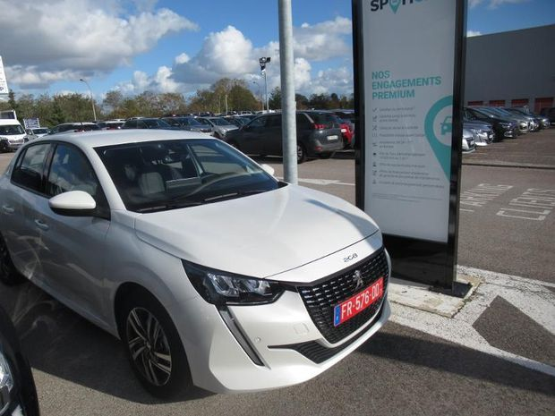 Photo miniature de la Peugeot 208 1.2 PureTech 100ch S&S Allure EAT8 2020 d'occasion