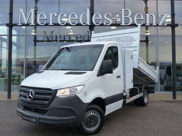 Photo miniature de la Mercedes Sprinter 514 CDI 37 3T5 Benne + Coffre 32900HT 2019 d'occasion