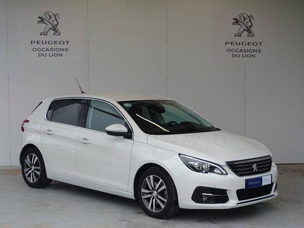 Photo miniature de la Peugeot 308 1.2 PureTech 130ch E6.c S&S Allure EAT8 2018 d'occasion