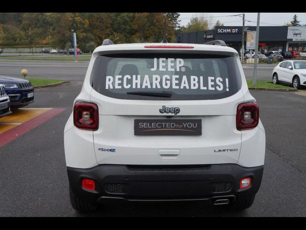 Photo miniature de la Jeep Renegade 1.3 GSE T4 190ch 4xe Limited AT6 2020 d'occasion