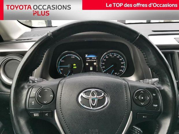 Photo miniature de la Toyota RAV4 197 Hybride Dynamic Edition 2WD CVT 2018 d'occasion