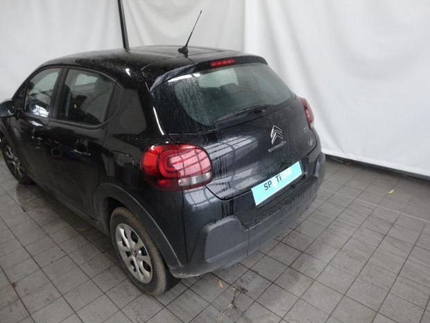 Photo miniature de la Citroën C3 BlueHDi 100ch Feel S&S E6.d-TEMP BVM5 2019 d'occasion