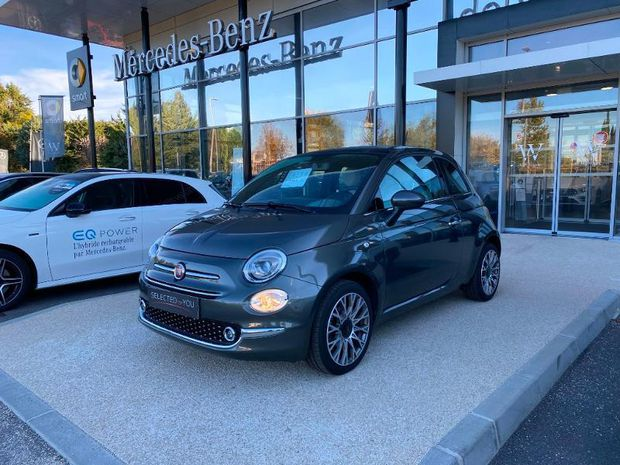 Photo miniature de la Fiat 500 1.2 8v 69ch STAR 2019 d'occasion