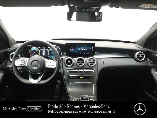Photo miniature de la Mercedes Classe C 180 d 122ch AMG Line 9G-Tronic 2019 d'occasion
