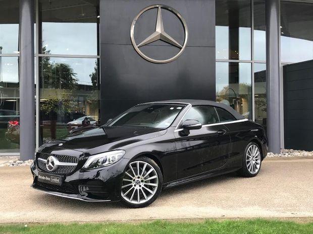 Photo miniature de la Mercedes Classe C Cabriolet 200 184ch AMG Line 9G-Tronic Euro6d-T 142g 2020 d'occasion