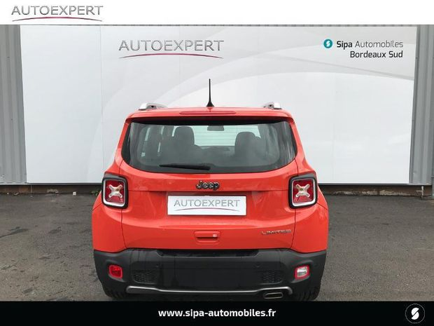 Photo miniature de la Jeep Renegade 1.6 MultiJet S&S 120ch Limited 2018 d'occasion