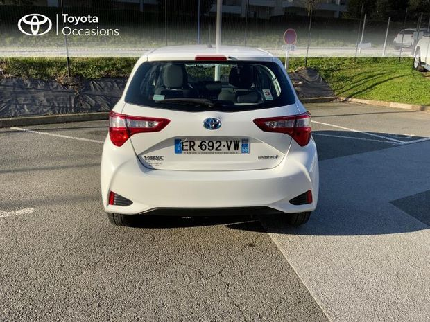 Photo miniature de la Toyota Yaris 100h France 5p 2017 d'occasion