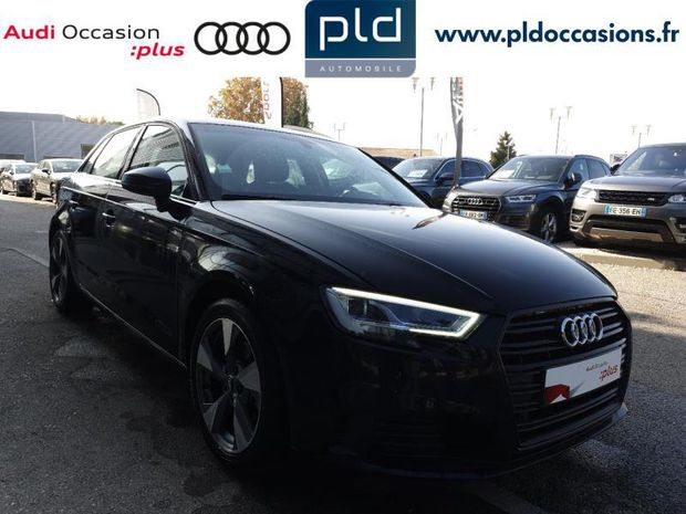 Photo miniature de la Audi A3 Sportback 1.6 TDI 116ch Midnight Series 2018 d'occasion