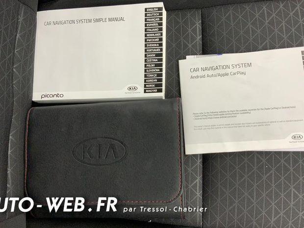 Photo miniature de la Kia Picanto 1.0 essence MPi 67 ch BVM5 Design 2019 d'occasion
