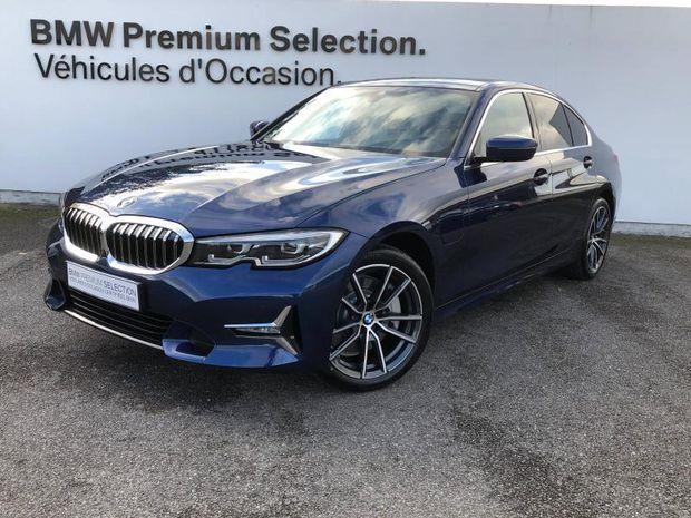 Photo miniature de la BMW Serie 3 Série 3 330eA 292ch Luxury 34g 2020 d'occasion