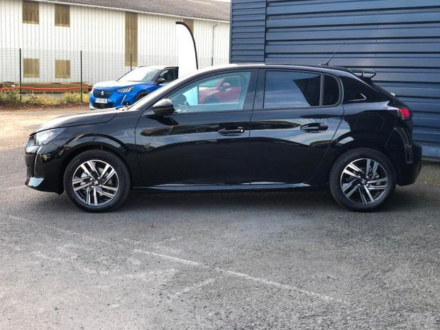 Photo miniature de la Peugeot 208 1.5 BlueHDi 100ch S&S Allure Business 2020 d'occasion