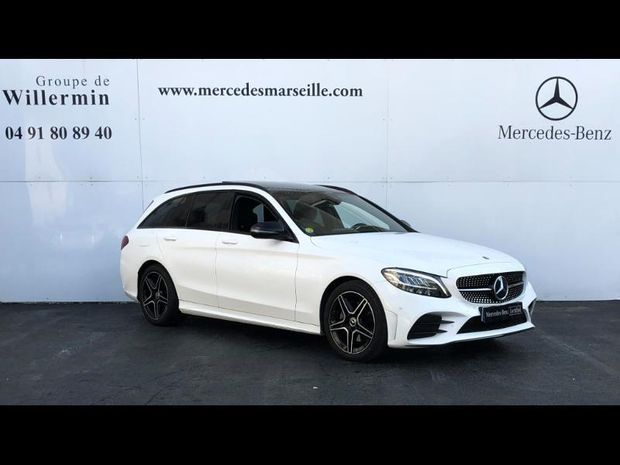 Photo miniature de la Mercedes Classe C Break 200 d 160ch AMG Line 9G-Tronic 2019 d'occasion