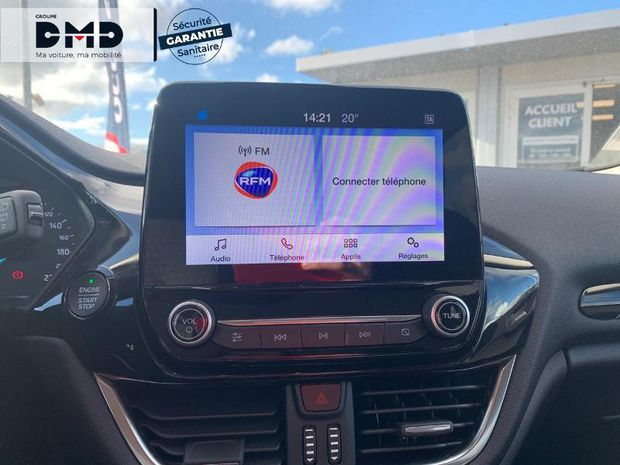 Photo miniature de la Ford Fiesta 1.1 85ch Titanium 5p 5cv Euro6.2 2019 d'occasion