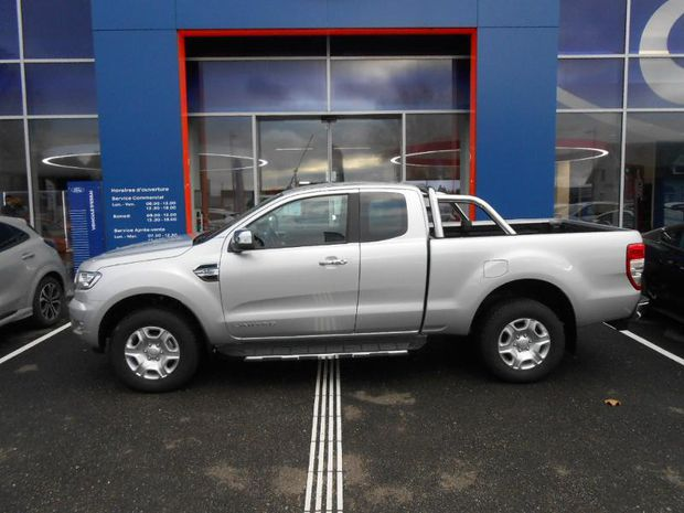 Photo miniature de la Ford Ranger 3.2 TDCi 200ch Super Cab XLT Limited BVA 2018 d'occasion