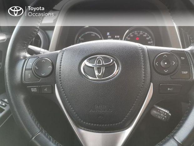 Photo miniature de la Toyota RAV4 197 Hybride Design 2WD CVT 2017 d'occasion