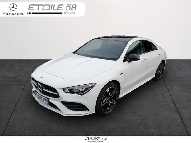 Photo miniature de la Mercedes CLA 250 e 160+102ch AMG Line 8G-DCT 2020 d'occasion