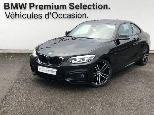Photo miniature de la BMW Serie 2 Série 2 Coupé 220dA 190ch M Sport 2018 d'occasion